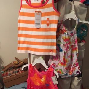 New with tags!! 4 Gymboree tops sz 4